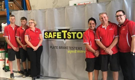 SafetStop Check is performed at every service!